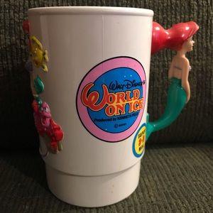 Rare Disney on Ice Ariel The Little Mermaid Mug